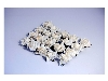 Click here for larger picture - Paper Rose Heads X20 White  £4.99