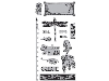 Click here for larger picture - Cling Stamp G45 Artisan Style 2 (HMIC0327) £9.99