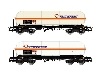 "Renfe 2 Unit Pack 4-axle Gas Tank Wagon Type Zags ""Transfesa"" Period V-VI (HE6004) £54.99 Added to website on 19/02/2020 00:40:26"