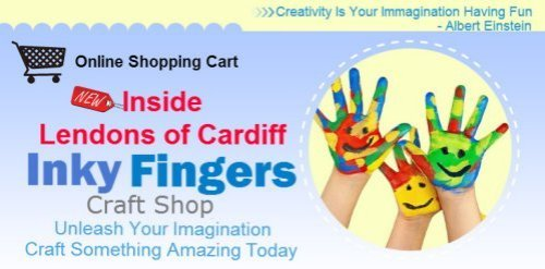 Inky Fingers Carfts Cardiff